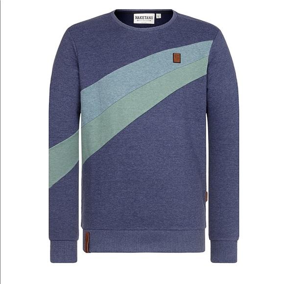 NWT men's naketano sweatshirt XXL NWT
